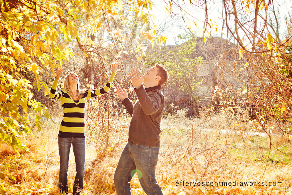 fall engagements in utah