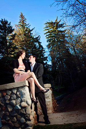 northern utah engagement photography
