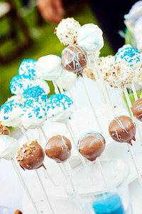 treat ideas for wedding reception, utah wedding photography, cake bites