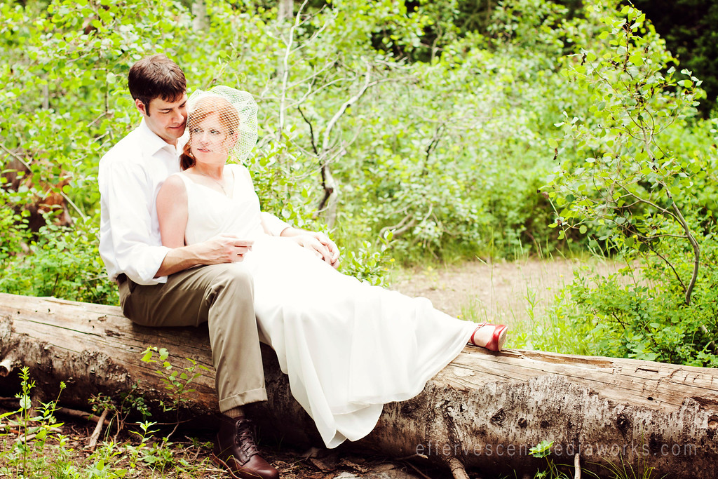 big cottonwood canyon wedding