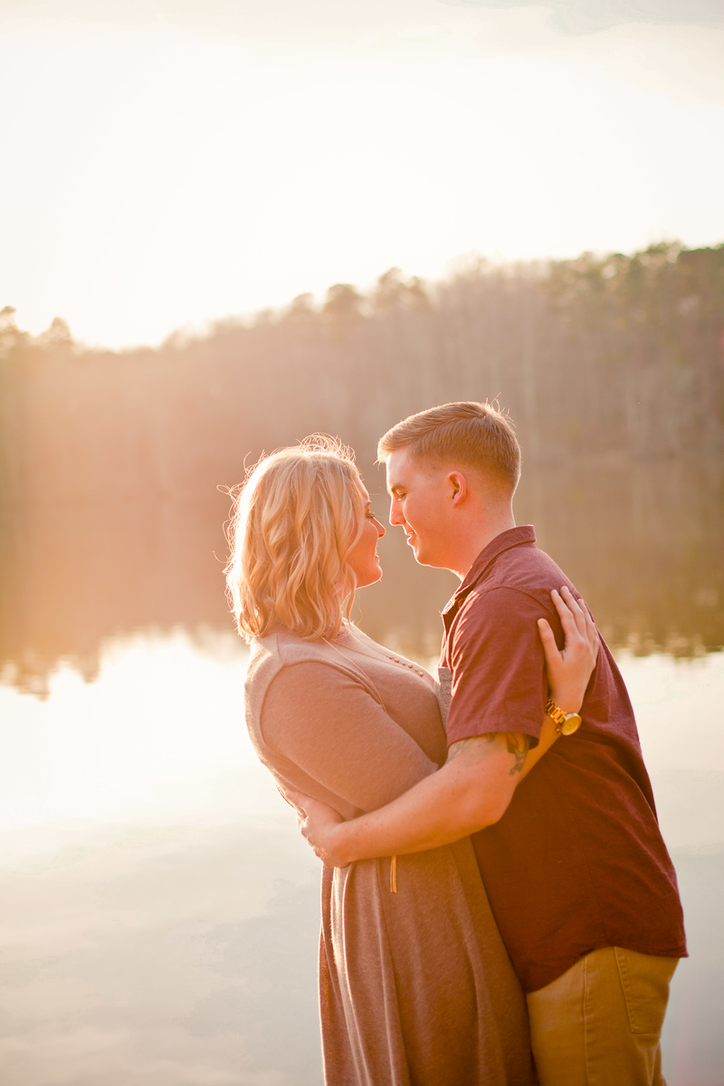 engagement photography in the RDU, Umstead state park